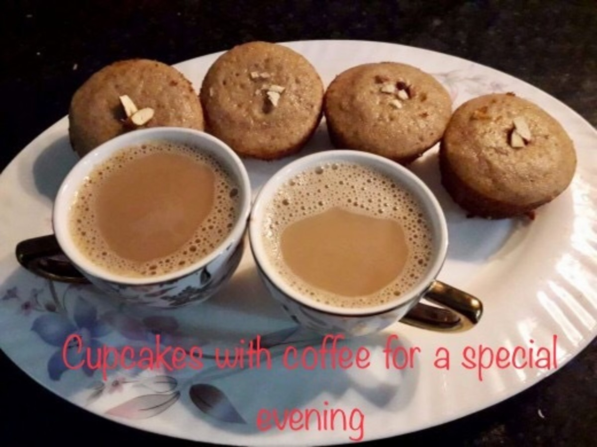 Make your evenings special with filter coffee and fresh home baked cakes