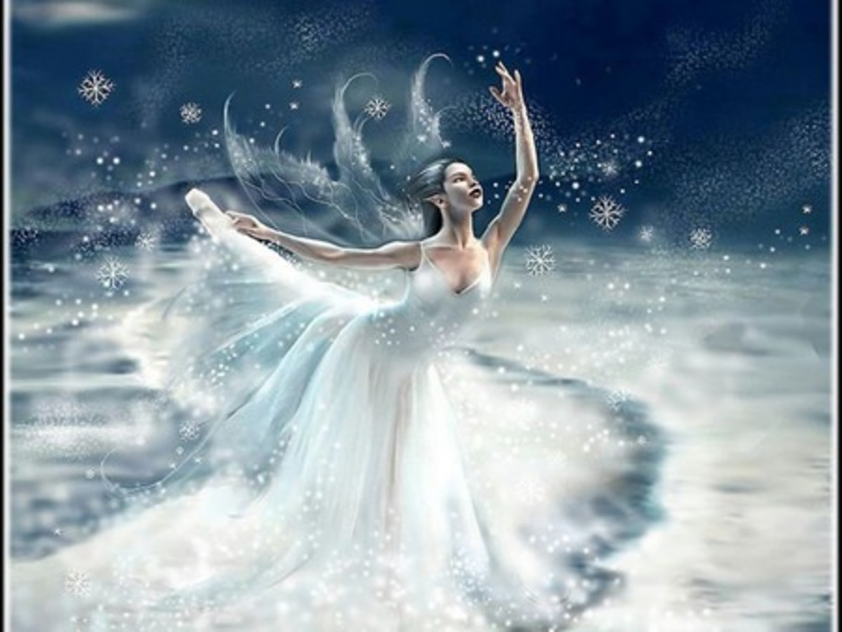 Beautiful Snow Fairy Wallpapers
