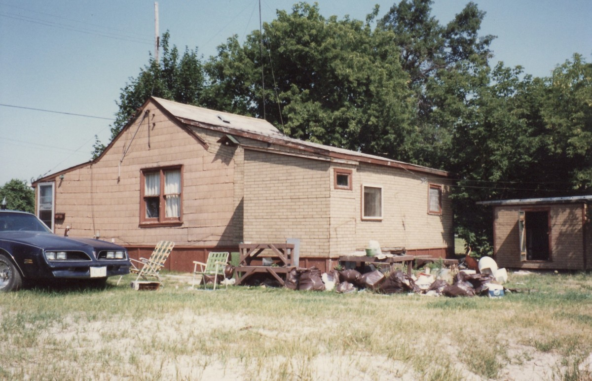 1166 Lakeshore Rd. This cottage was demolished in 1988.