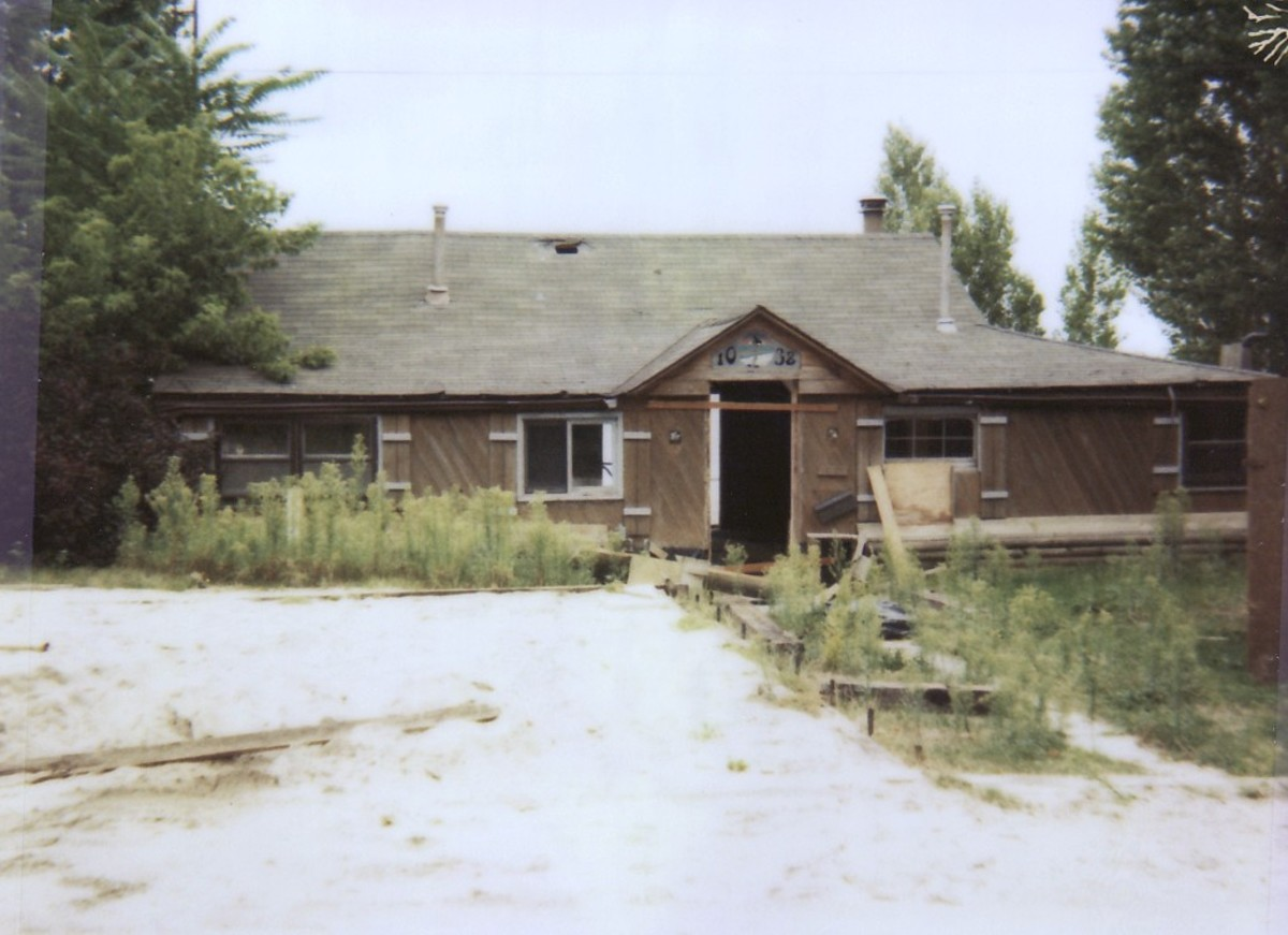 1038 Lakeshore Rd. This cottage was demolished in 1994.