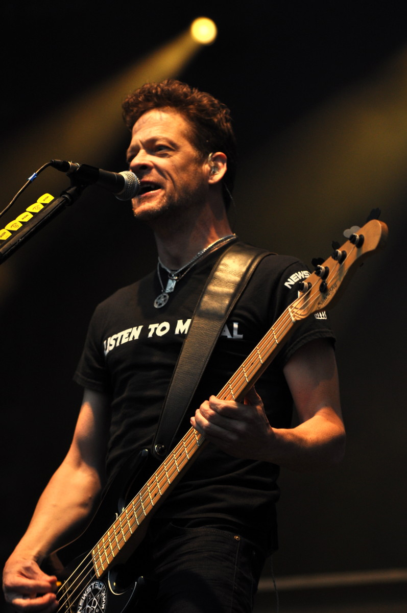 Jason Newsted is seen here in this 2013 photo. He was a member of Metallica between 1986 and 2001.