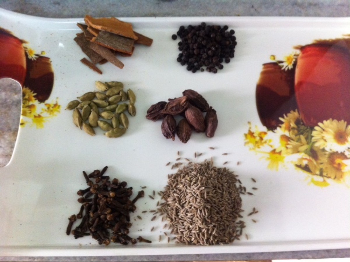 The Indian Garam Masala: Ingredients