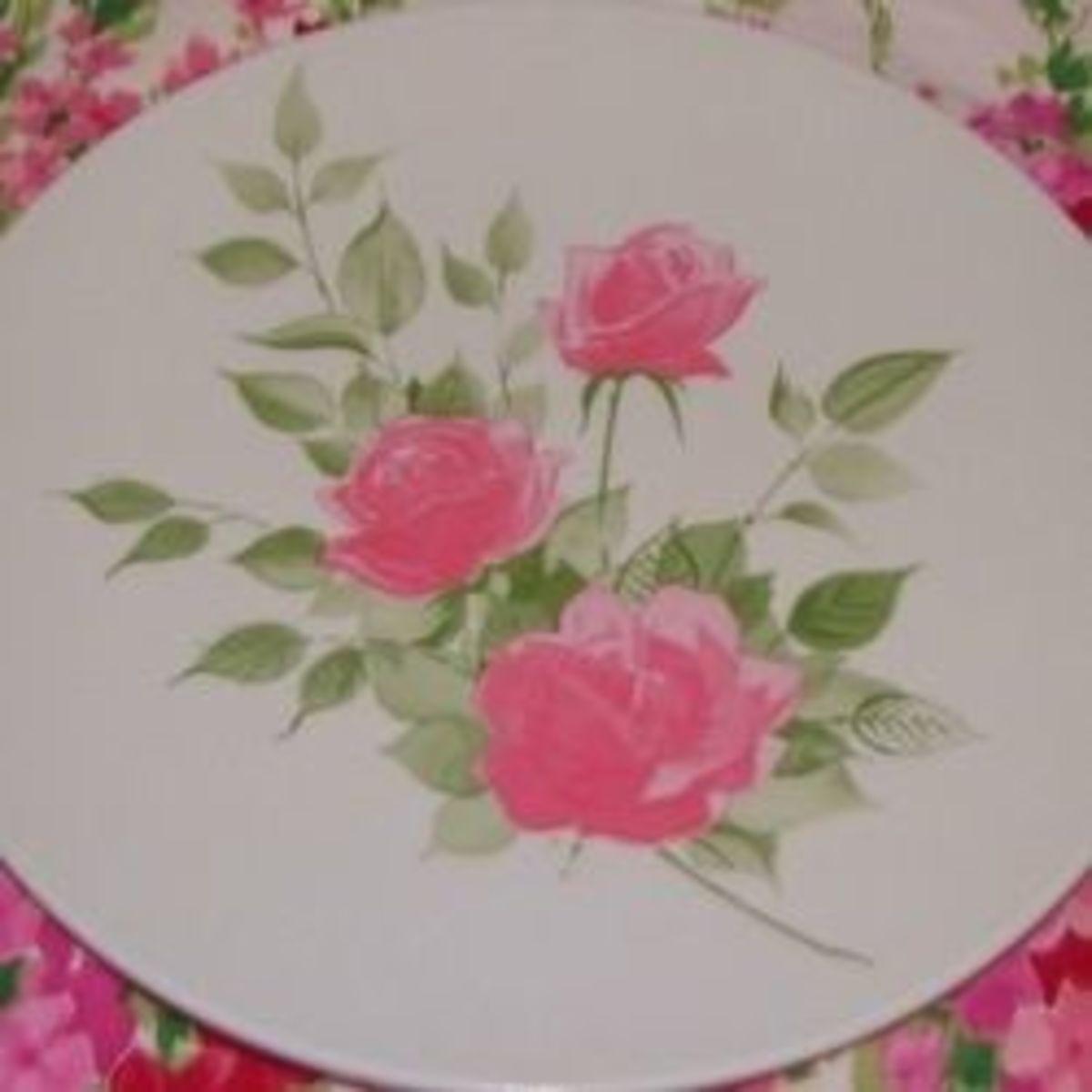 Vintage Melmac Plates