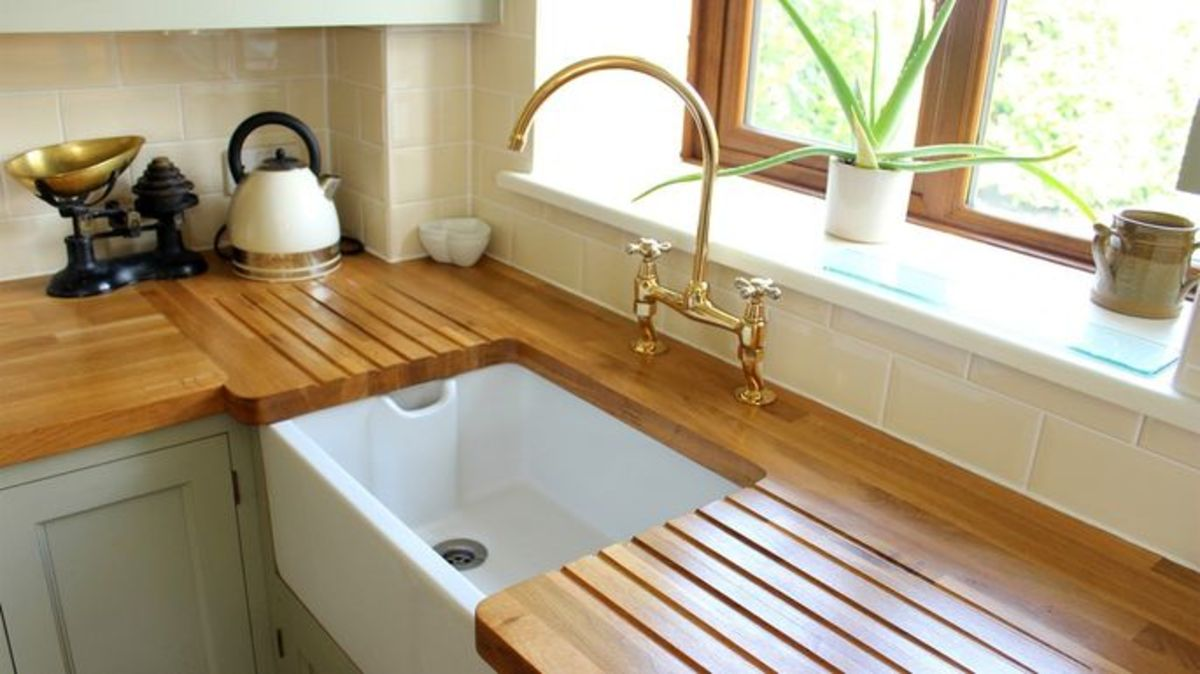 Quality wood for a kitchen countertop!