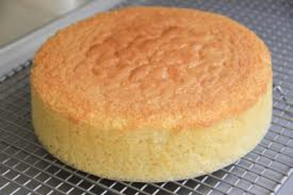 sponge-vanilla-cake