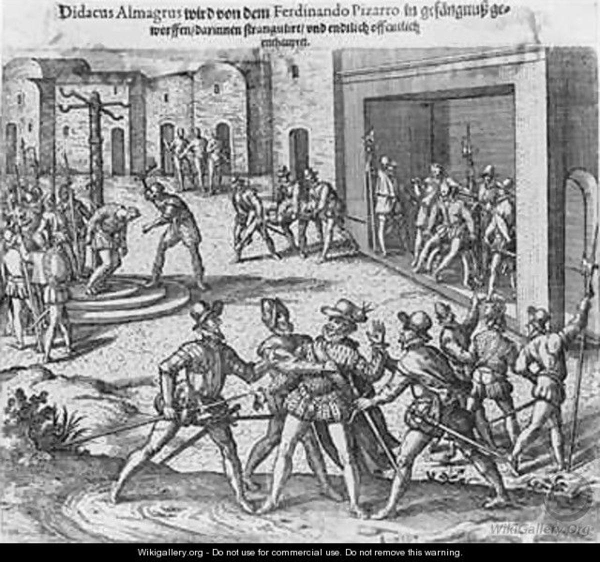 Almagro Execution