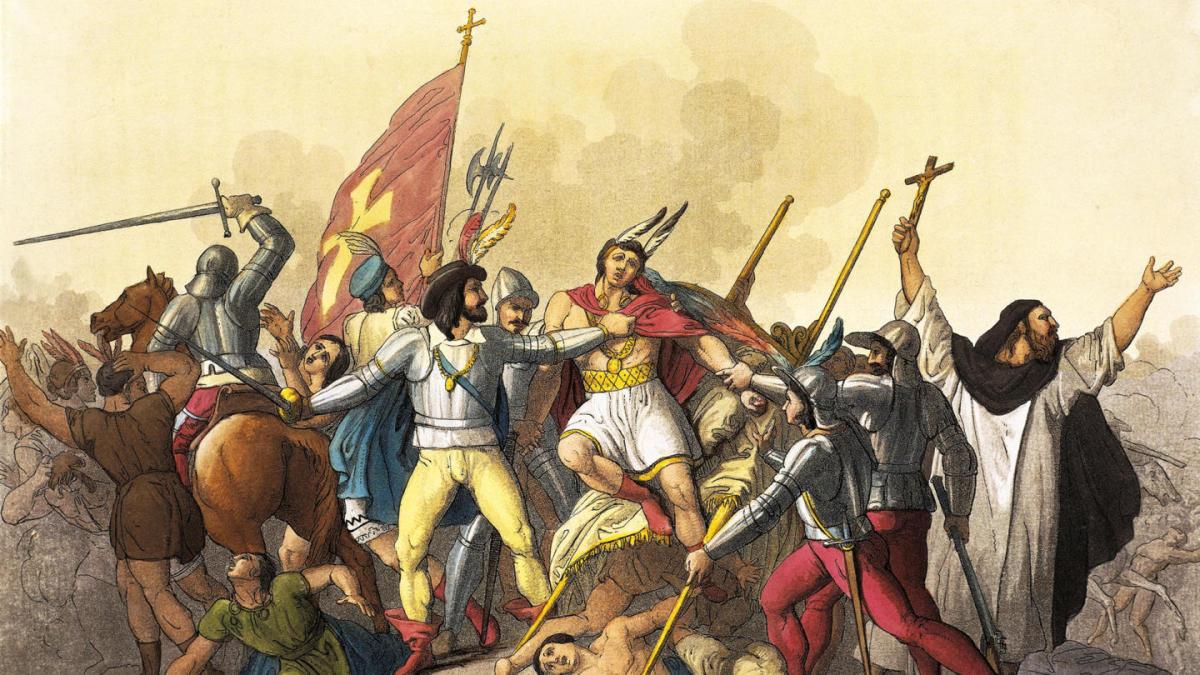 The Capture of Emperor Atahualpa