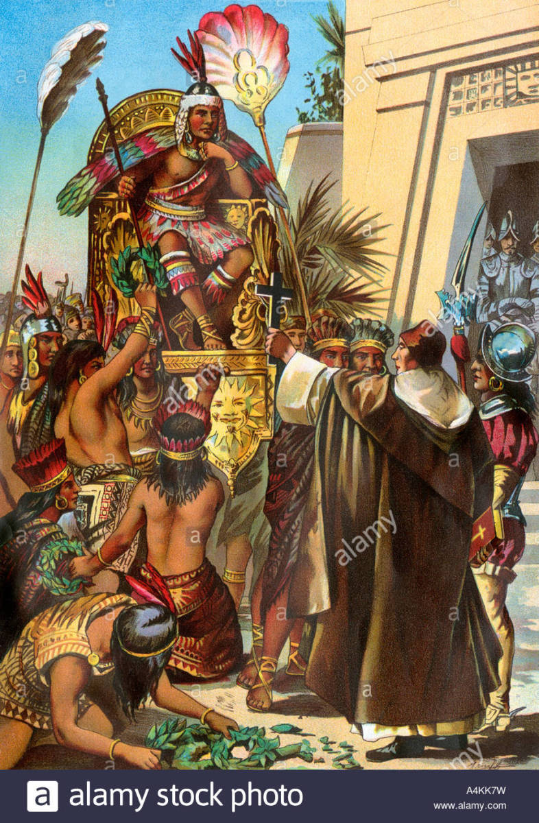 The Execution of Emperor Atahualpa