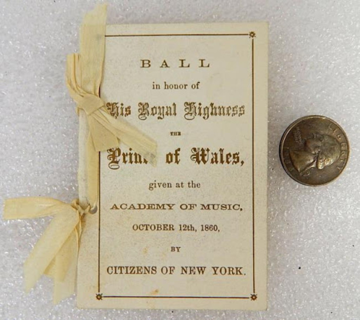 Ball for Prince of Wales