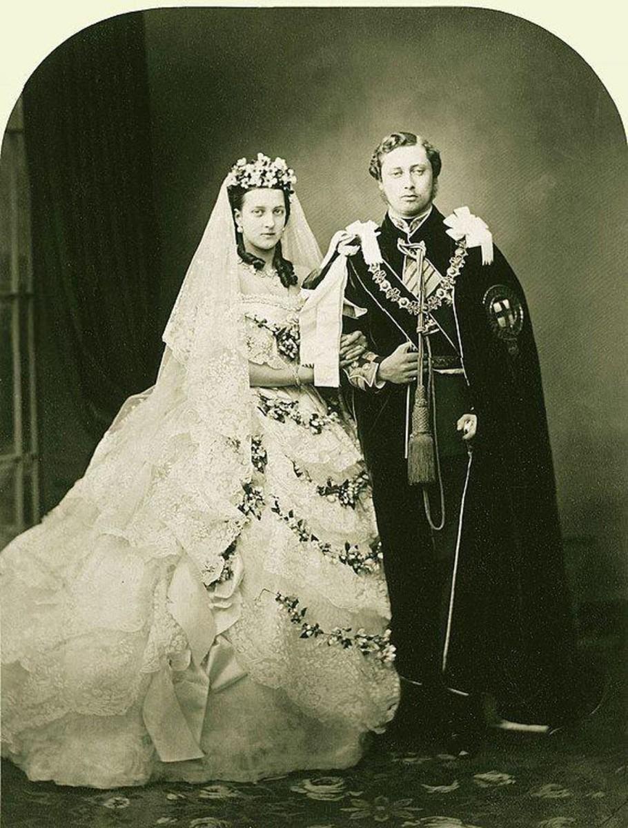 Ida and Ben Wood Wedding 1867