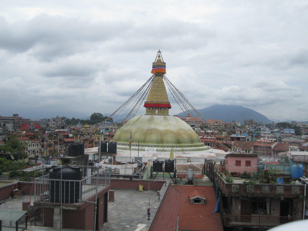 Boudhanath in Nepal: Circling One of the World's Largest Stupas