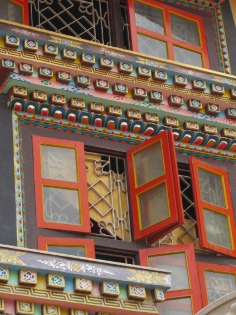 There are plenty of hotels and guesthouses to choose from in Boudhanath