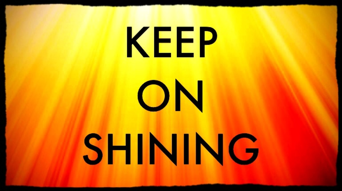 Keep on Shining...