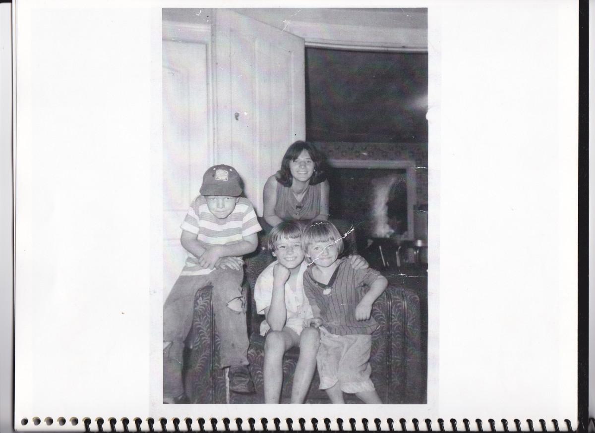 Philip, Beatrice, Patty, and Connie.  Taken around 1963.