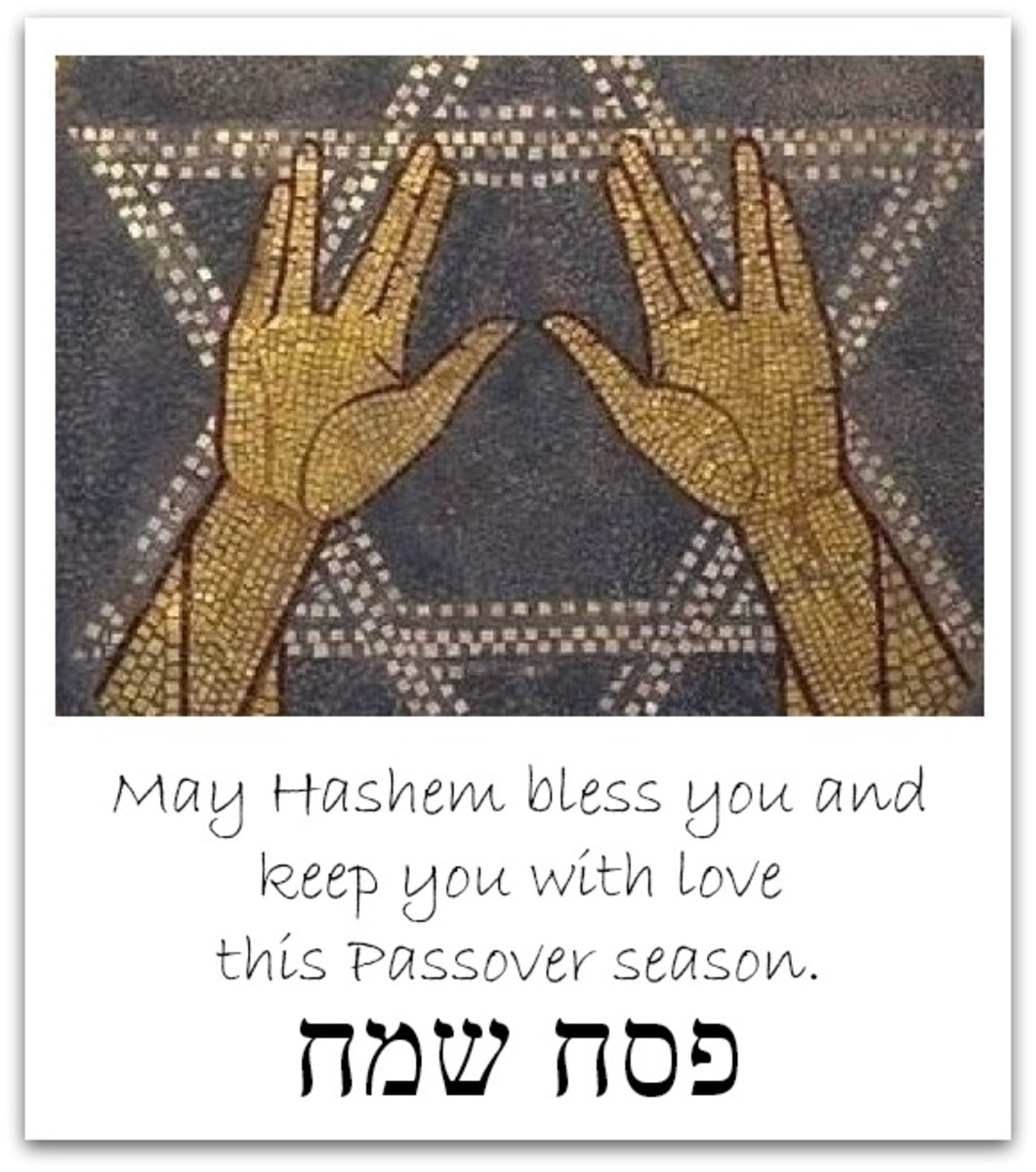Happy passover find a cool passover greeting hubpages happy passover priestly blessing m4hsunfo