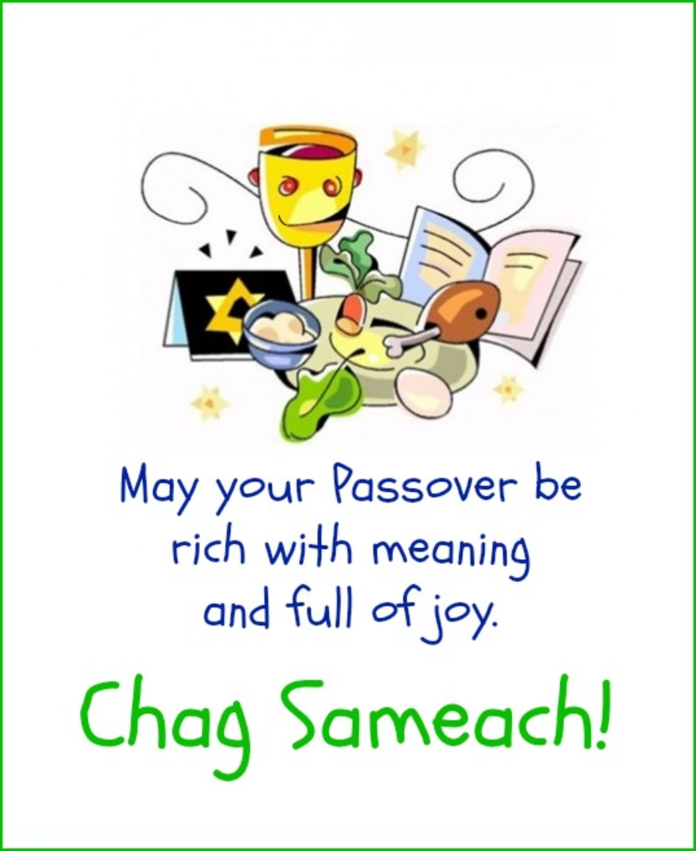 Chag Sameach! Passover Greeting
