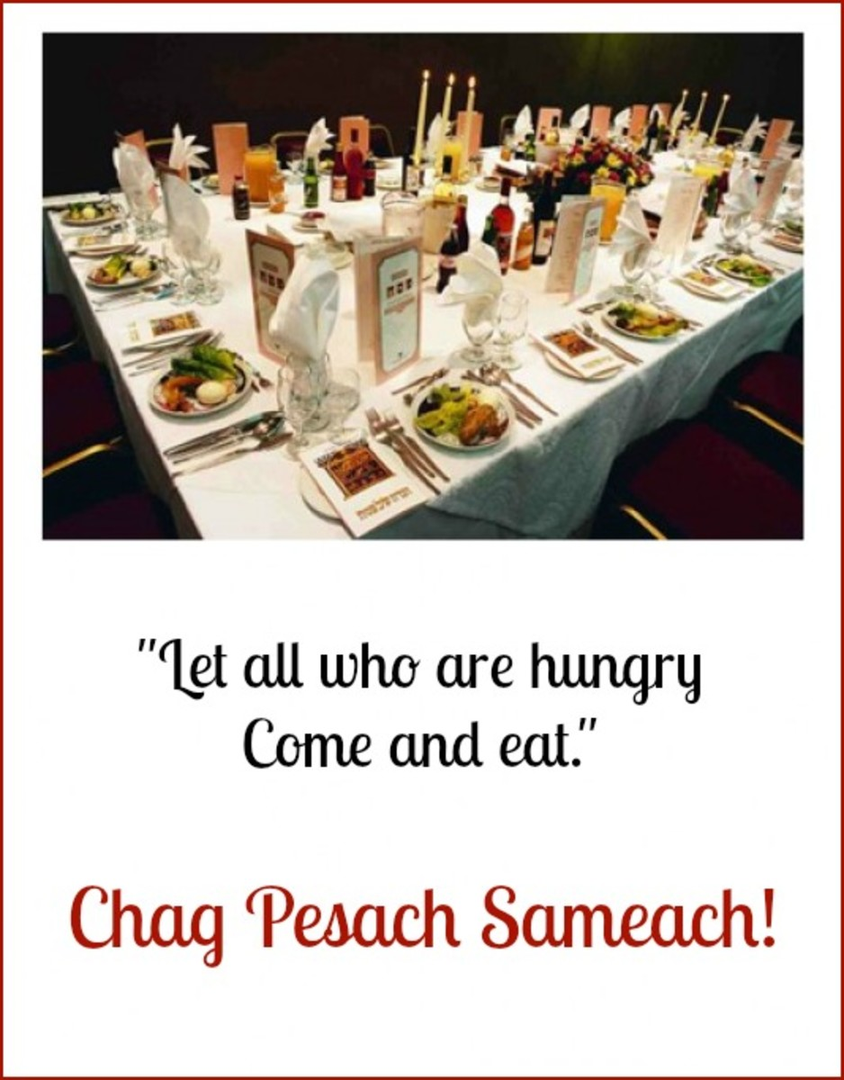 Happy Passover Holiday!