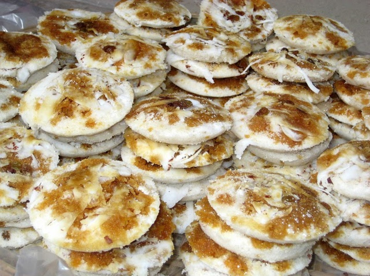 Winter special Vapa Pitha (steamed cake)