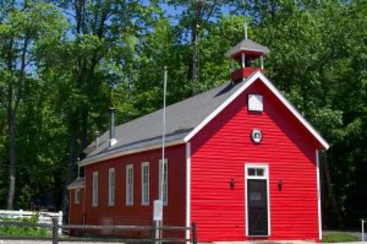 My father attended a one room schoolhouse like this one built in 1871. School systems have changed substantially.