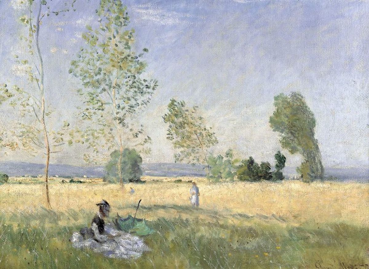 1874 Painting by Claude Monet, located at  Alte Nationalgalerie Berlin.