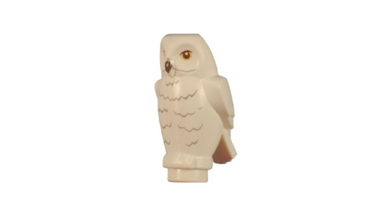 LEGO Hedwig Owl Creature Piece