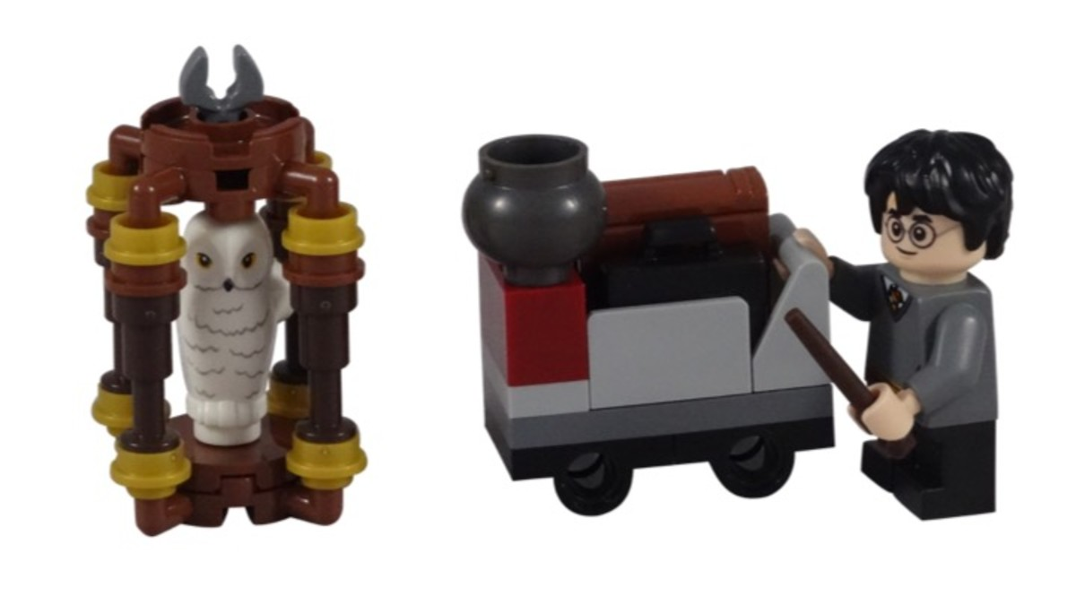LEGO Harry's Journey To Hogwarts Polybag 30407 Complete Set