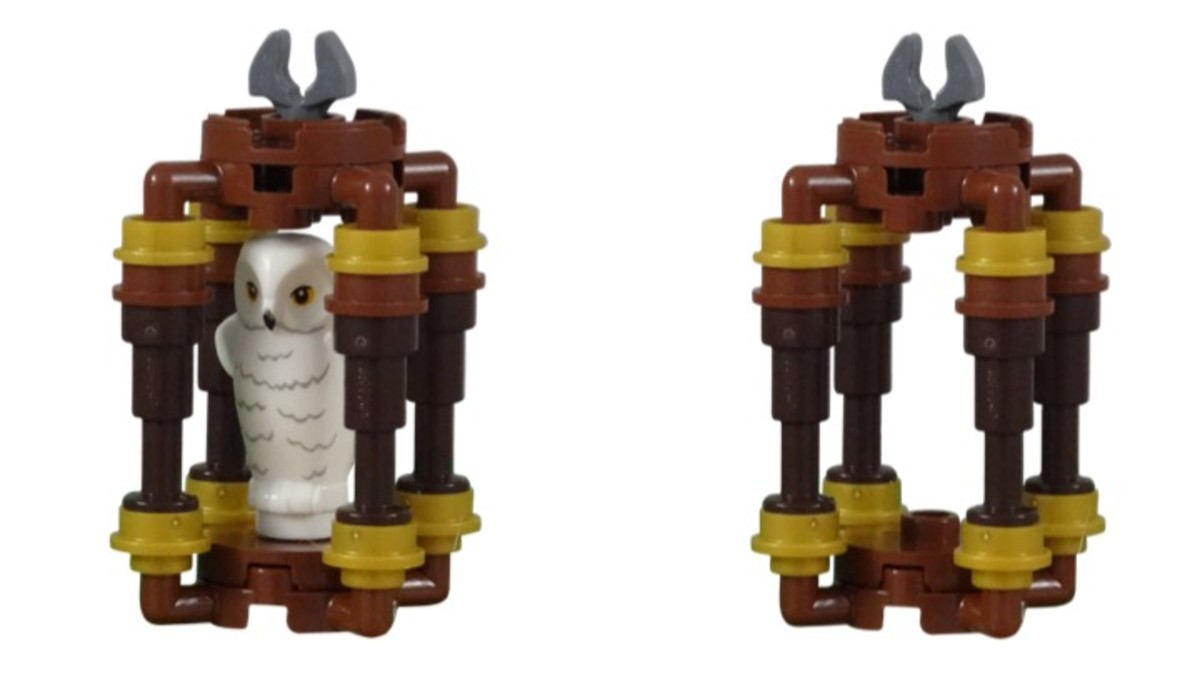 Hedwig Cage from LEGO Harry's Journey To Hogwarts Polybag 30407