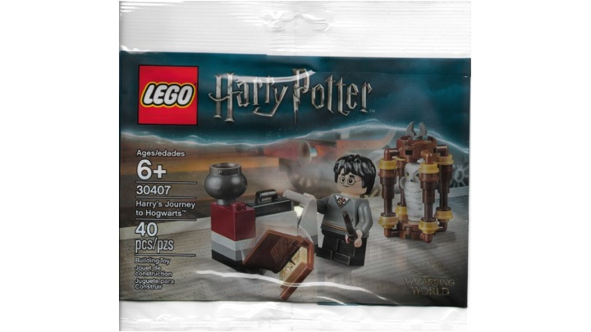 LEGO Harry's Journey To Hogwarts Polybag 30407 Review