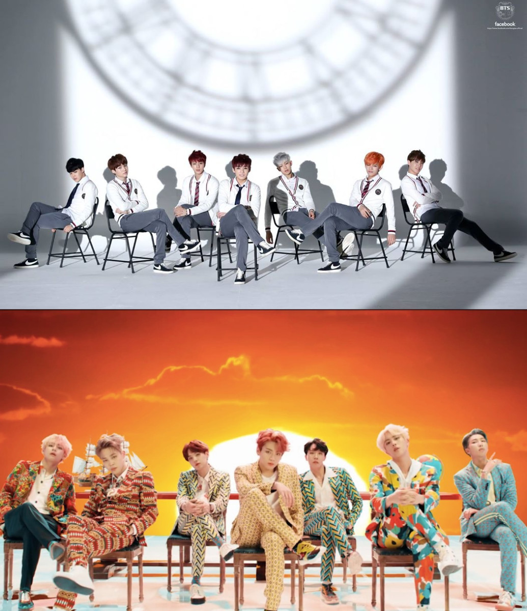 BTS is known for their continuing saga, each MV reveals certain parts of a story they seem to be telling from their very first MV. New MV usually refer to past ones.