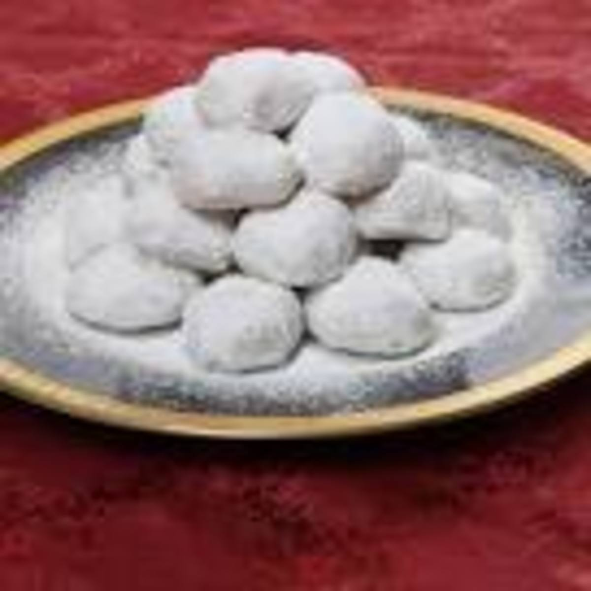 Kourabiethes and Melomakarona - Two Greek Christmas Cookies Recipes