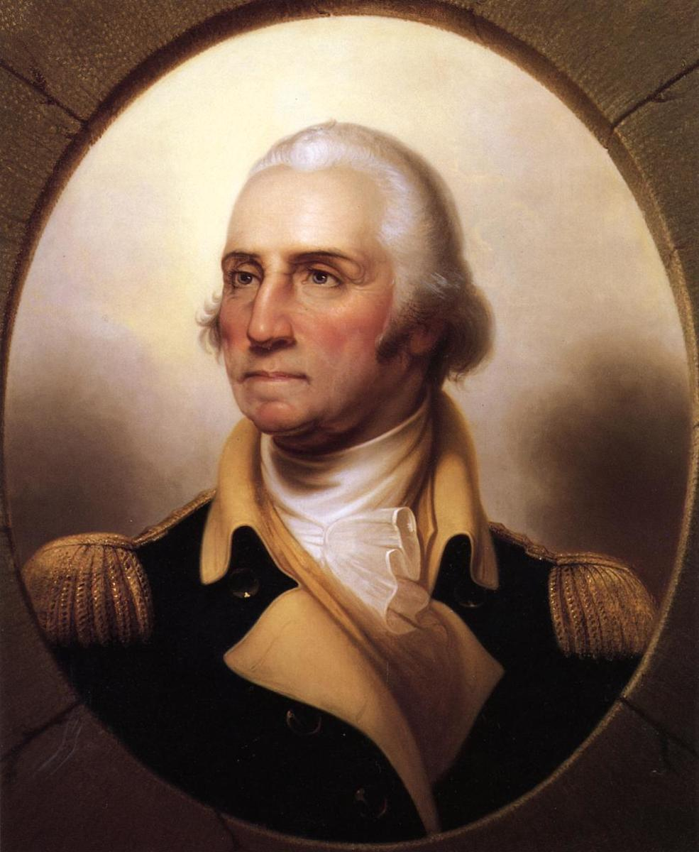 THE FATHER OF OUR COUNTRY GEORGE WASHINGTON WILL BE QUOTED IN THE SCHOOLS OF AMERICA
