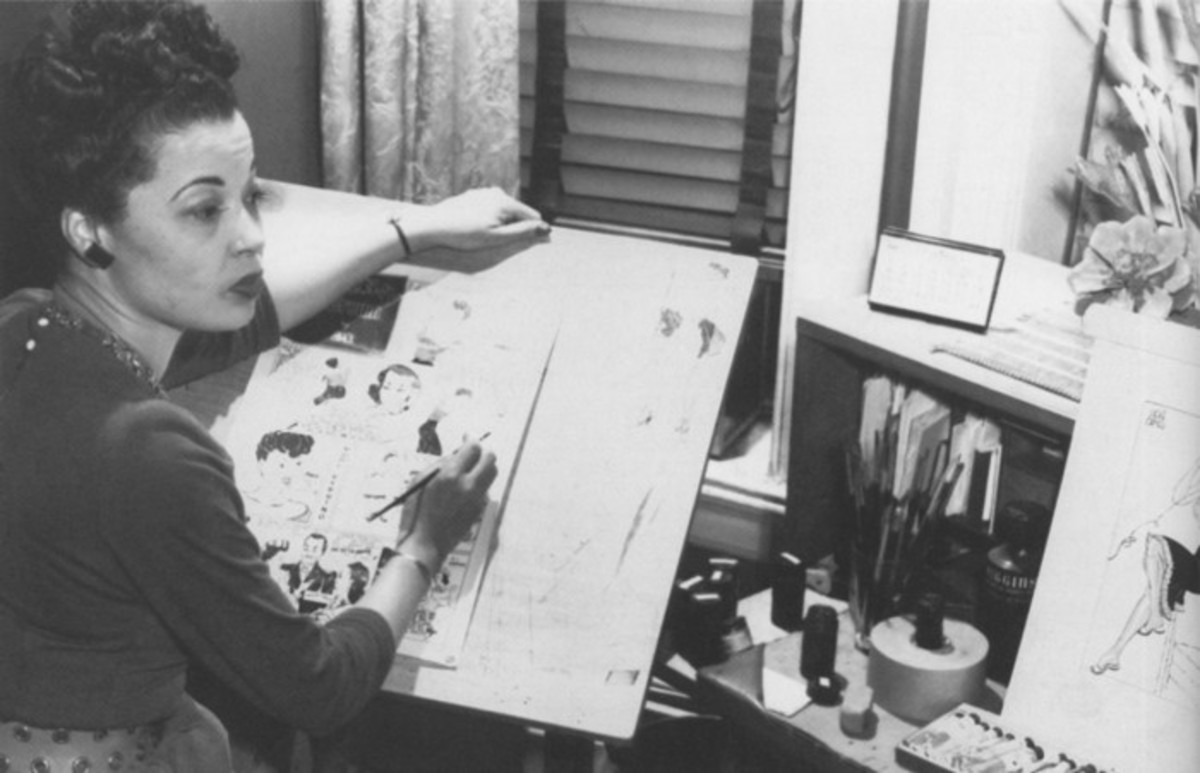 Jackie Ormes Creating a Comic