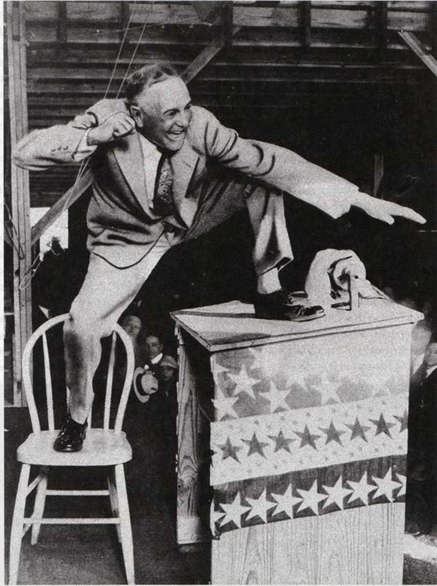 Rev. Billy Sunday preached many times in brush arbors.