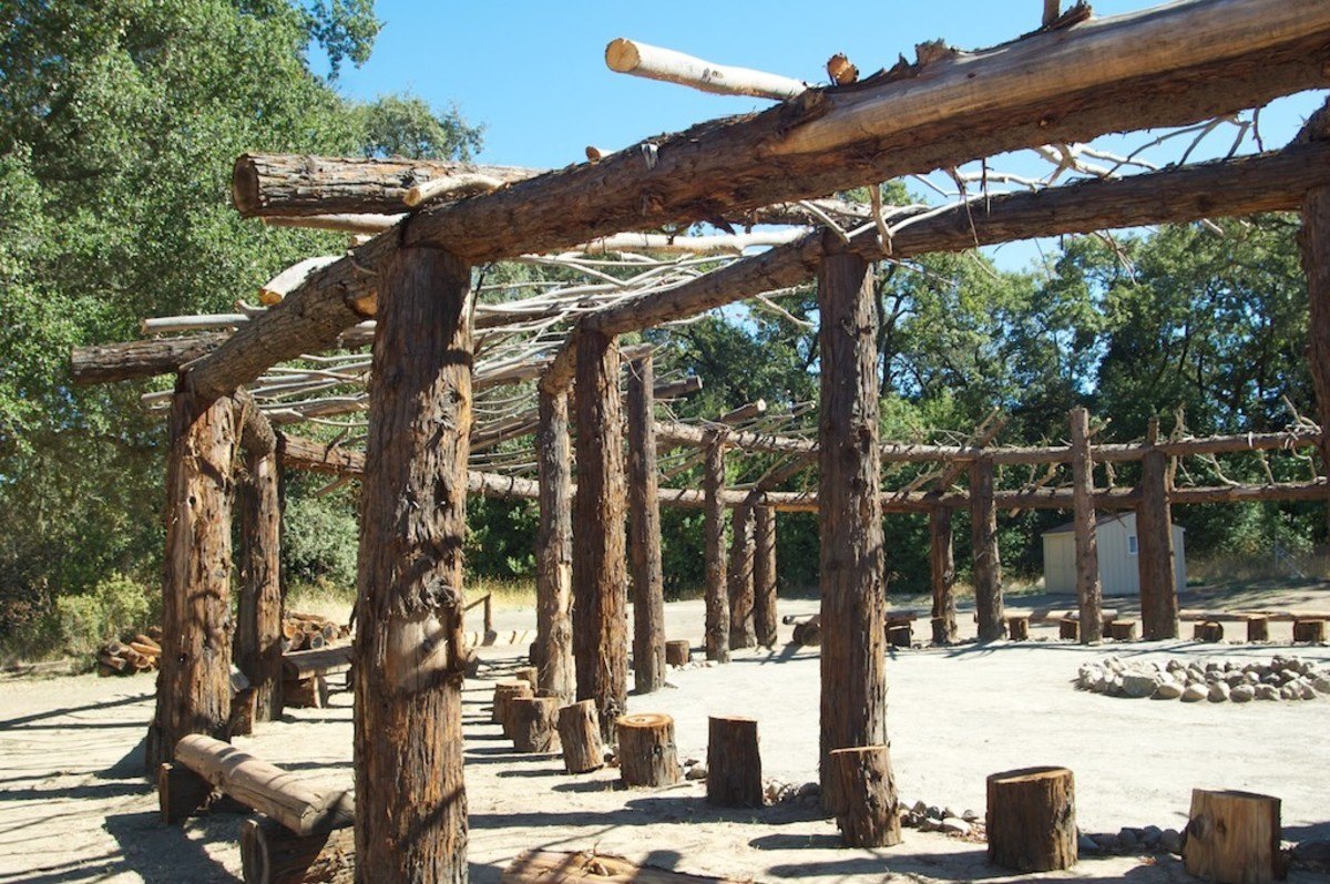 See how the inner-structure of a brush arbor is built.