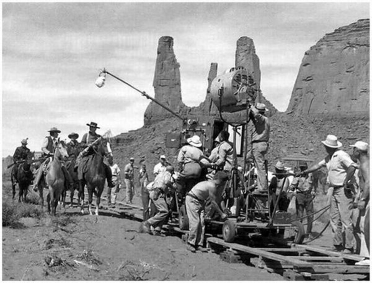 Filming The Searchers (1956)