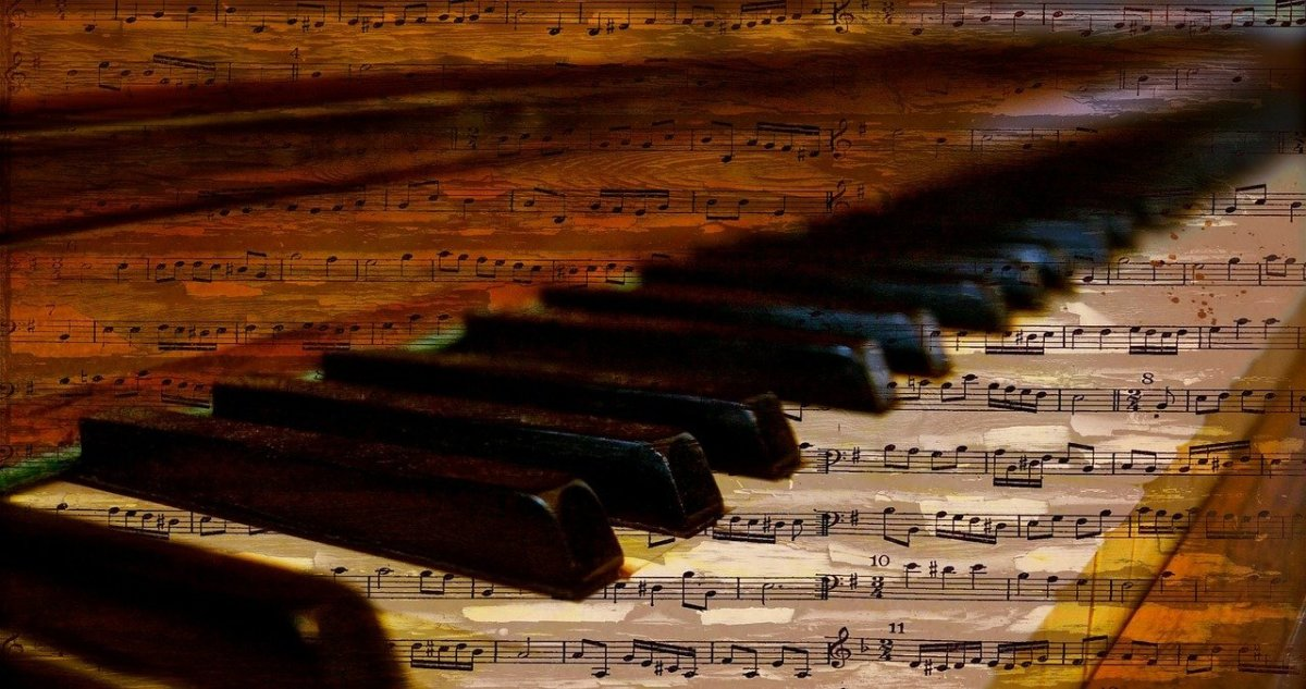 Piano Piano Keys Notes Music Sheet Music