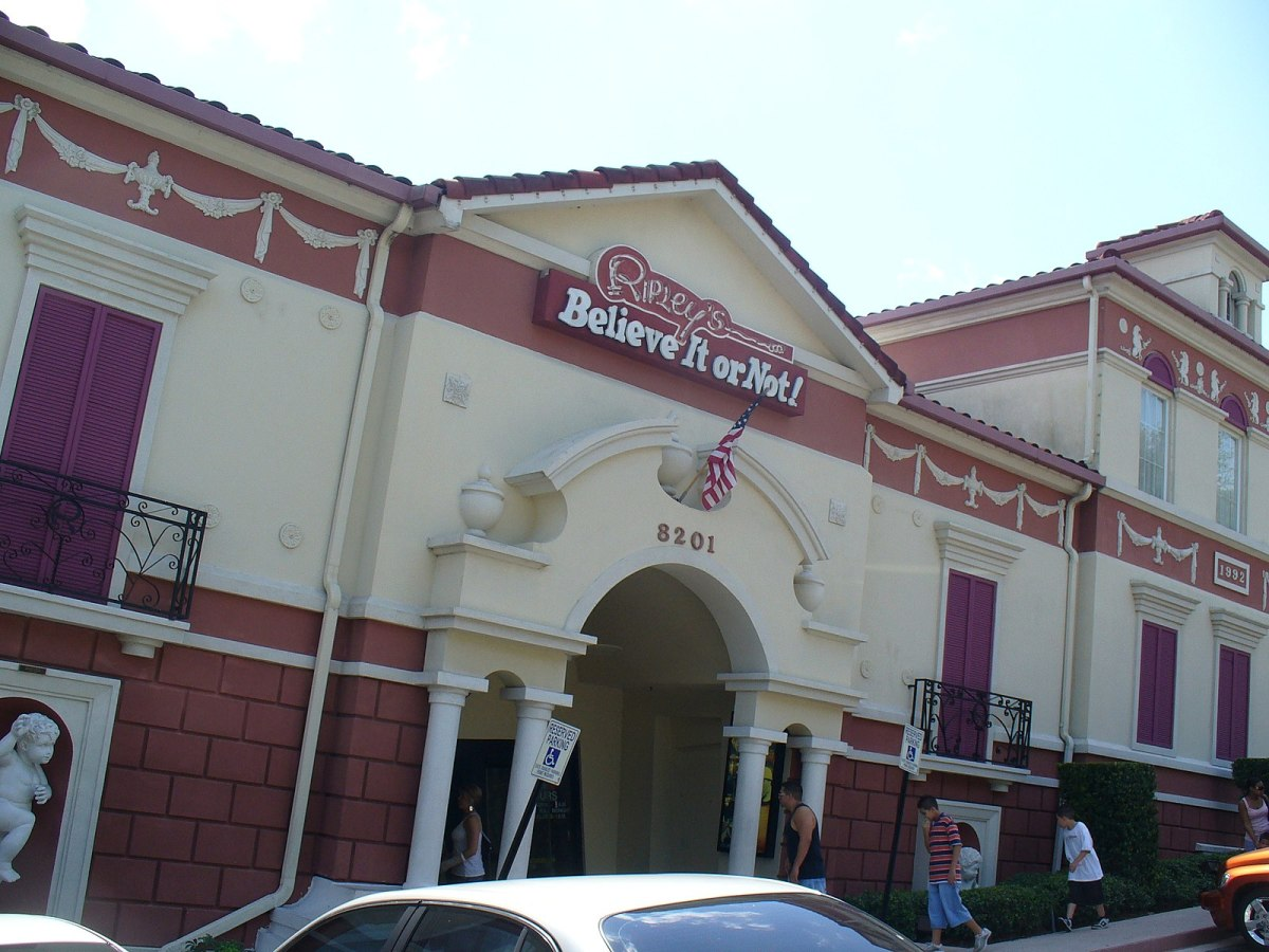 Ripley's Believe It or Not! is an enchanting emporium of natural and unnatural mysteries, oddities, and artifacts.