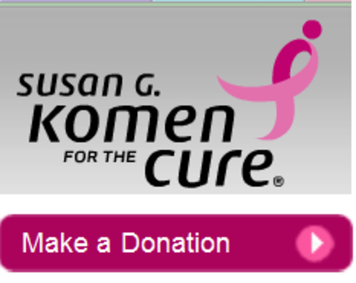 Donate now to Susan G. Komen for the Cure