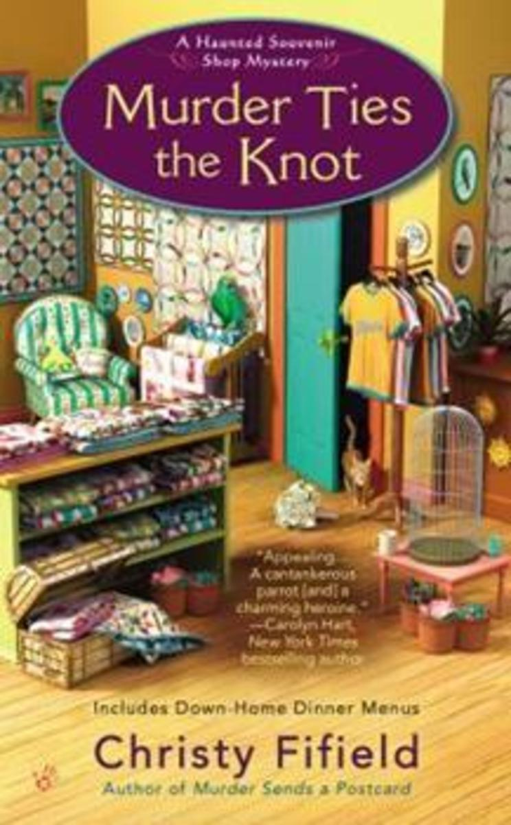Book Review: Murder Ties the Knot by Christy Fifield
