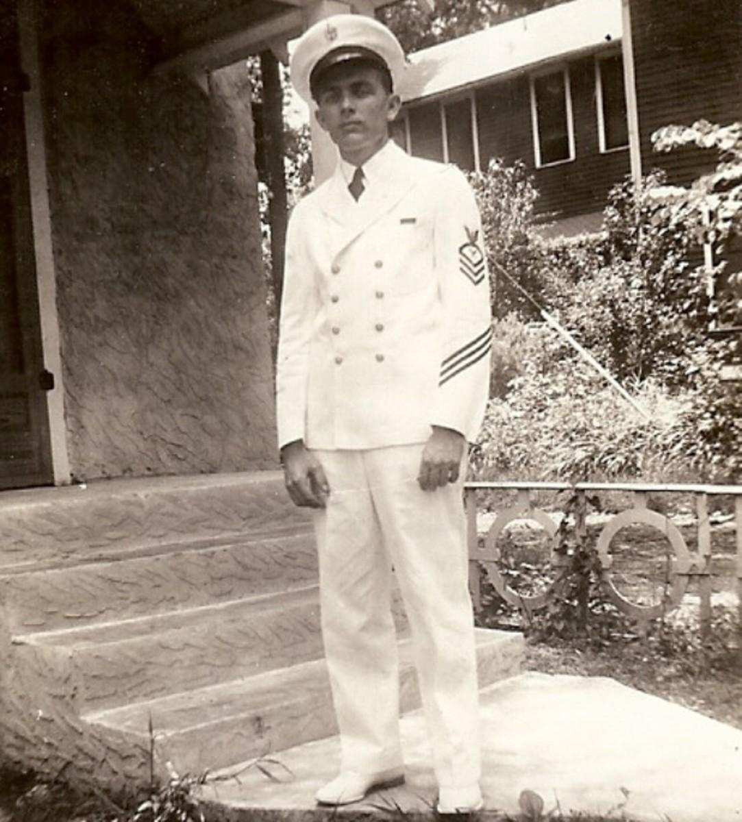 Ervin Moore, USN, 1941, brother of Byron.