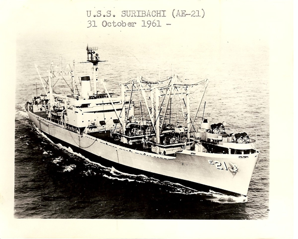 One of Dad's file photos of the Suribachi.