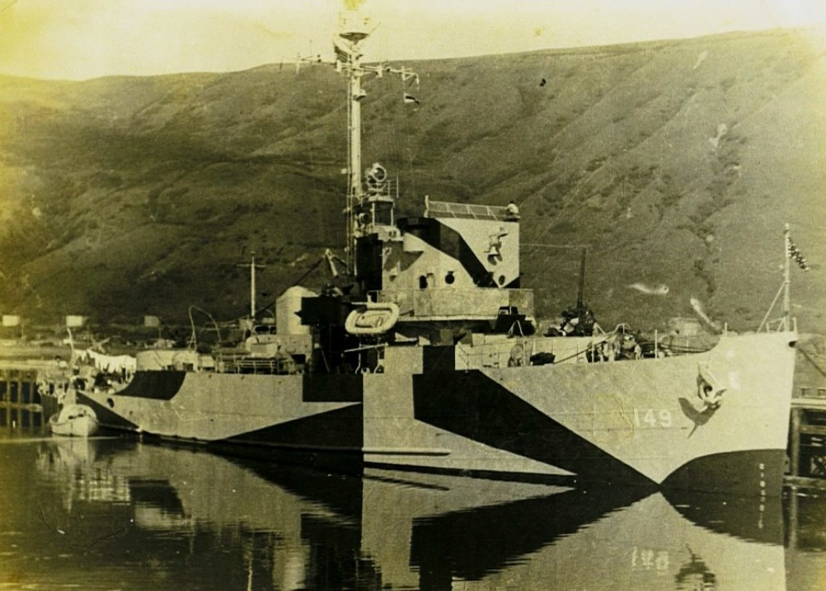 An Admirable Class Minesweeper, Seaman Moore was with the first crew on board when the ship was put into commission after sea trials.