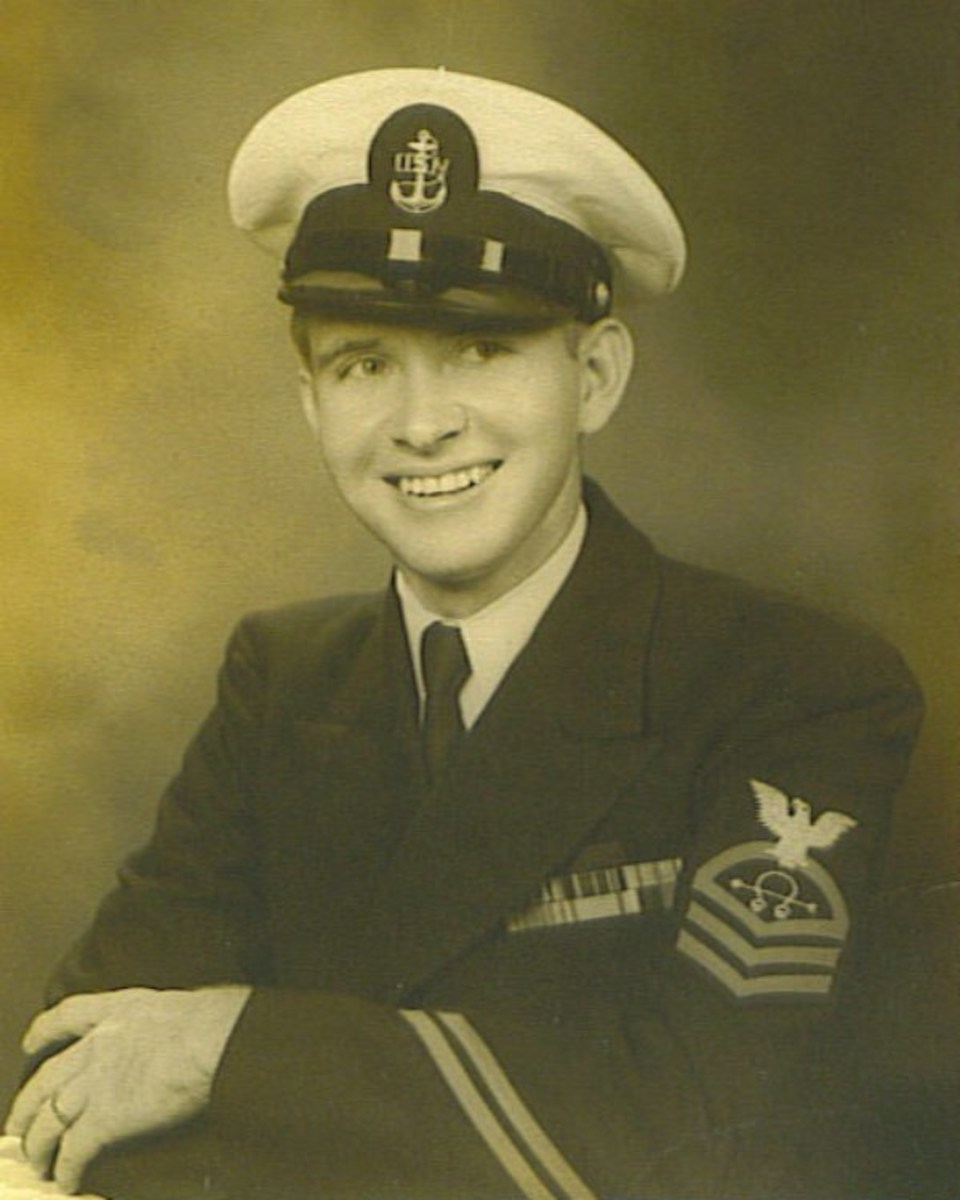 Graduation from Officer Candidate  School, August 1954