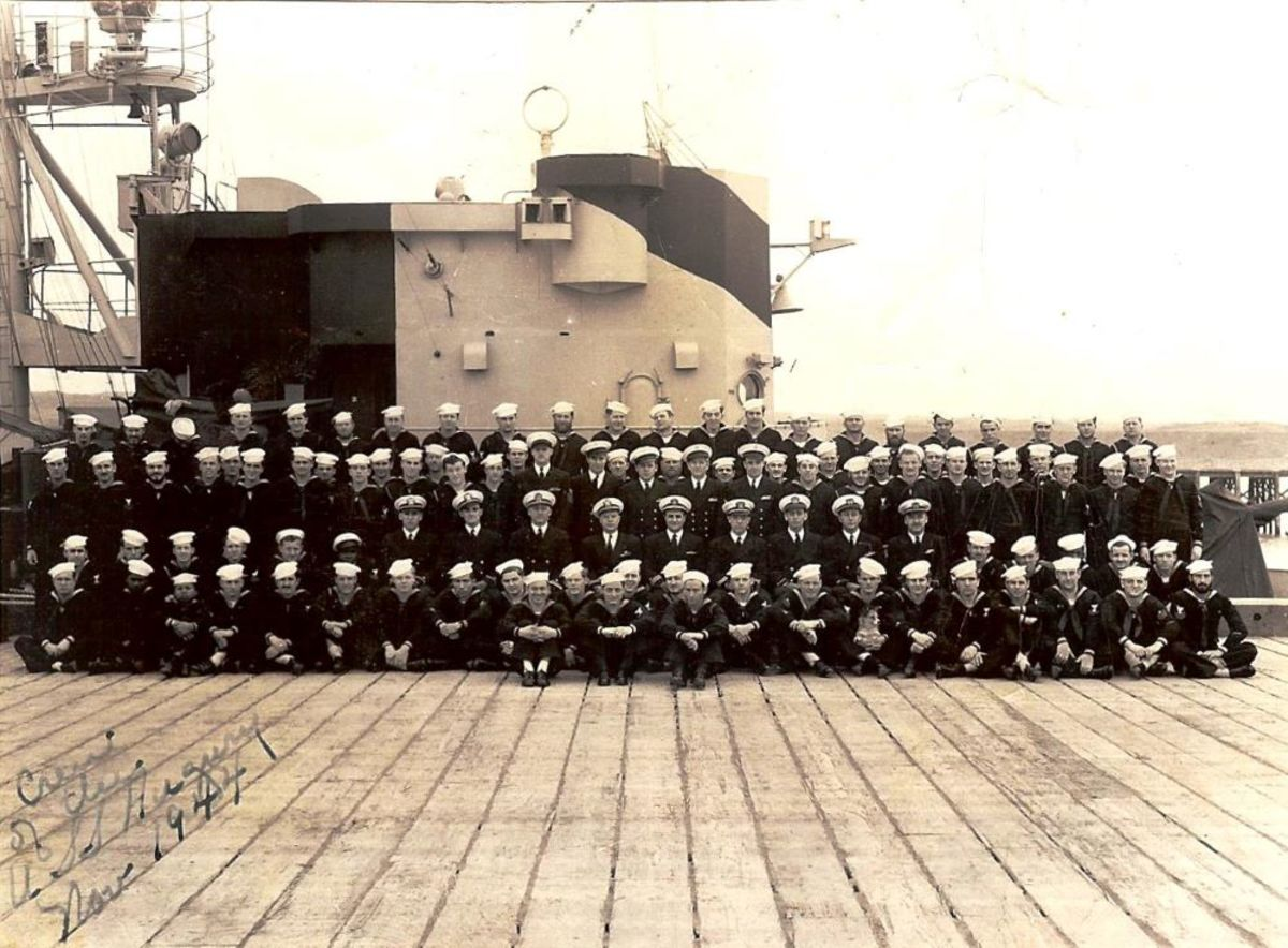 Moore is on the 2nd row from the bottom, 4th from the left of the photo.