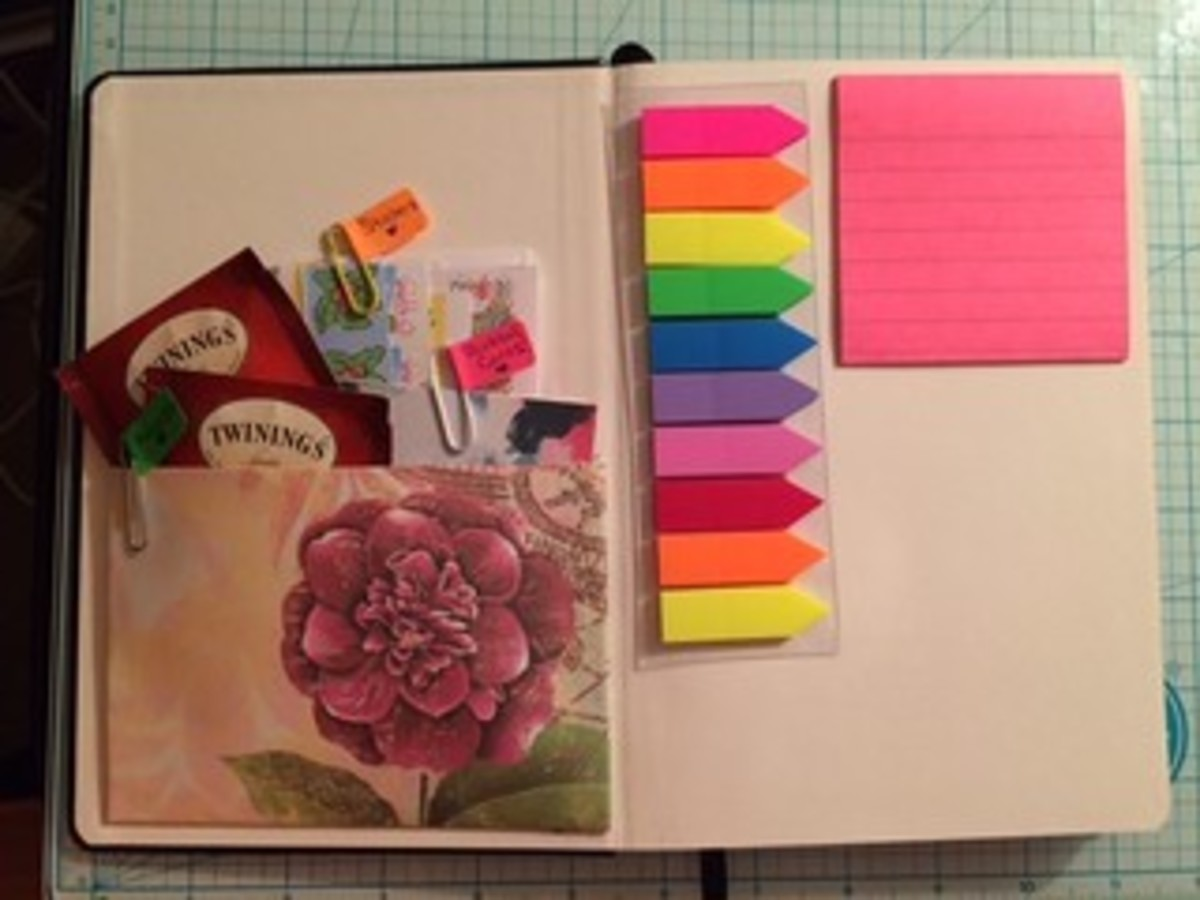 Using a bullet journal or planner is a great option to keep and store your lesson plans.