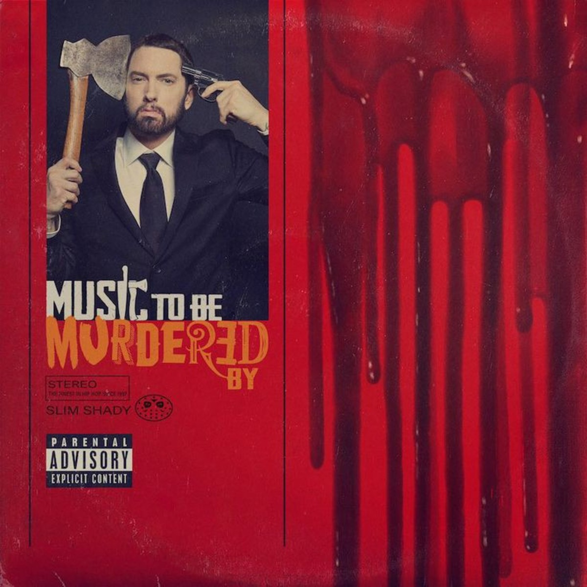 """""""Music To Be Murdered By"""" cover art"""