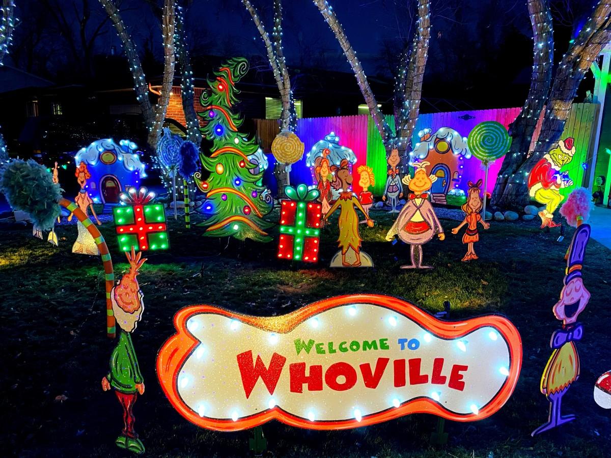 Whoville at Stricker's Winter Wonderland