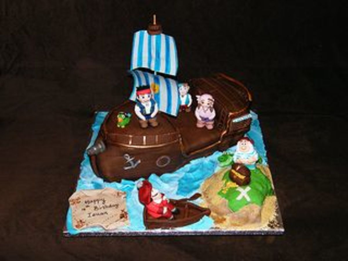 Jake and the Neverland Pirates Cake by Eldriva