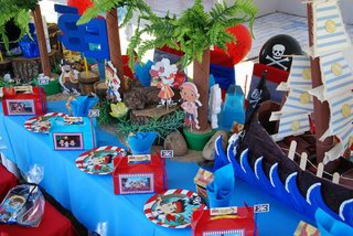 Jake & the Neverland Pirates Party by Treasures and Tiaras kids parties