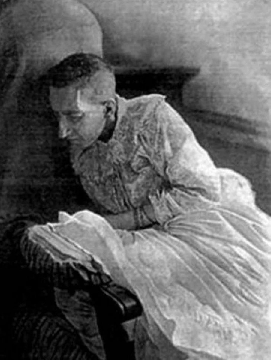 Blanche Monnier later in life.